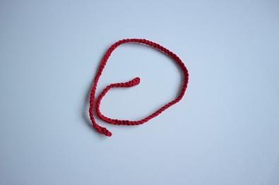 простой шарф крючком для вязанной игрушки