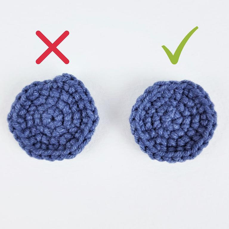 Как завершить вязание крючком по кругу или спирали