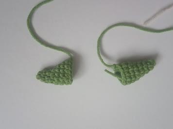 уши вязаного Йоды